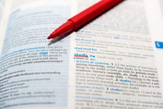 Photo of 字典學單字2. 同義字典幫你精準用字。