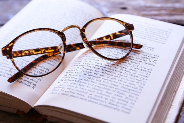 光看書學英文