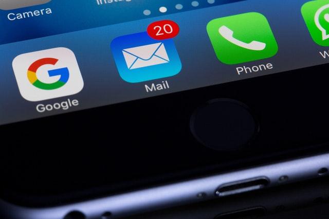 unread e-mail